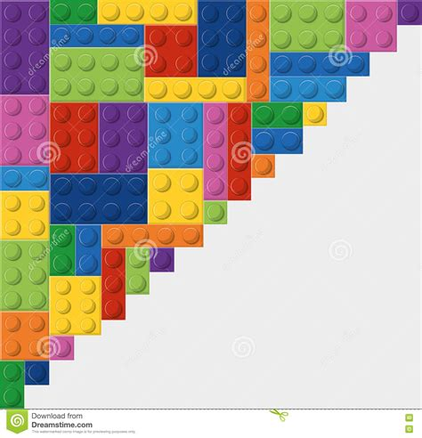 Lego Graphic 17 lego icon abstract figure vector graphic stock vector