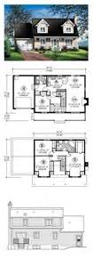 cape house plans cape cod house plan 49687 total living area 1564 sq ft