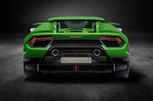 Huracan Lamborghini Lamborghini Huracan Performante Revealed Delivers 640 Hp
