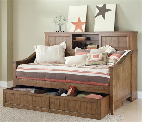 Design Daybeds With Drawers Ideas Cool Trundle Bed With Drawers Modern Trundle Beds Design Ideas Rustic Daybeds