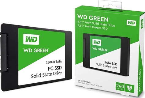Jual Wd Green Ssd 240 Gb Sata Bergaransi western digital 240gb green sata iii 2 5 inch ssd drive wds240g2g0a buy best price