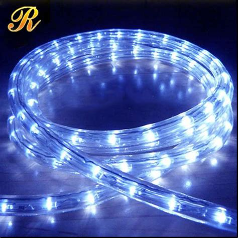 led rope lights outdoor christmas street light decoration