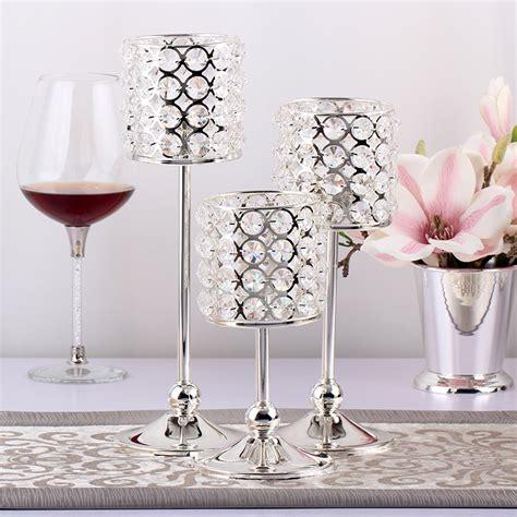 kerzenhalter glas hochzeit kristall teelichthalter kaufen billigkristall