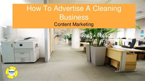 How To Advertise A Cleaning Business How To Advertise A Cleaning Business