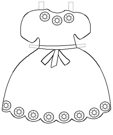 paper doll dress up template printable clothes templates paper doll project 4