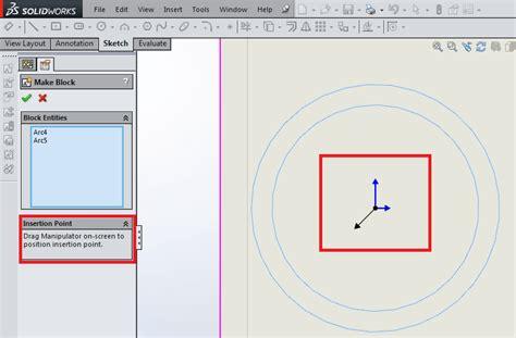 solidworks tutorial blocks tutorial sketch blocks in solidworks 3d engineer