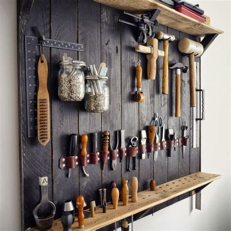 Tool Wall Storage Rack by Best 25 Workshop Ideas On Workshop