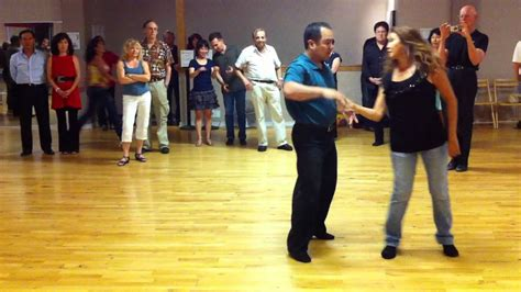 west coast swing san jose west coast swing demo richard kear 8 1 2011 youtube