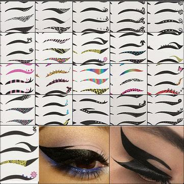 tattoo eyeliner boots black temporary eye tattoo transfer eyeshadow eyeliner
