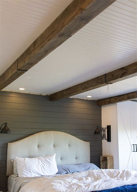 Diy Wood Beams For Under 150 Diys Crafts Recipes False Ceiling Beams