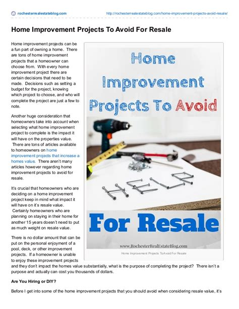 what makes property value decrease home improvement projects that can decrease home values