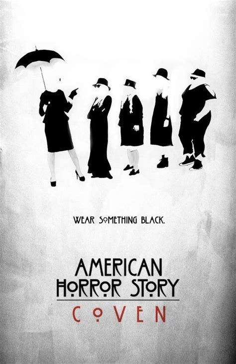 american horror story coven unleashes four new posters comingsoon net coven american horror story coven and horror stories on