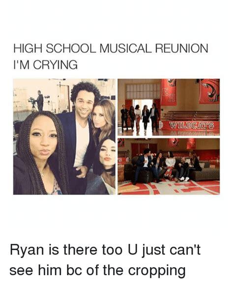 High School Girl Meme - high school musical reunion i m crying ga wildcats ryan is