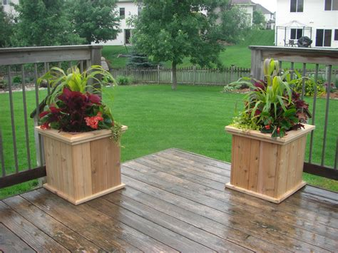 Raised Planters Planters Raised Gardens Crafter S Workshop