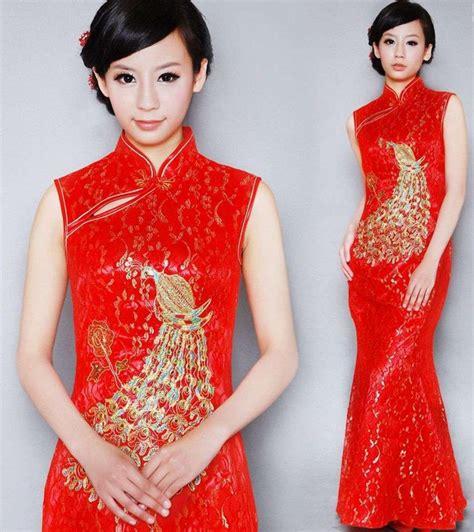Model Rambut Cena by Model Dan Gambar Cheongsam Dress Modern