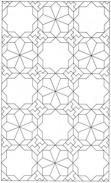 islamic pattern outline possible base outline table top dec pinterest