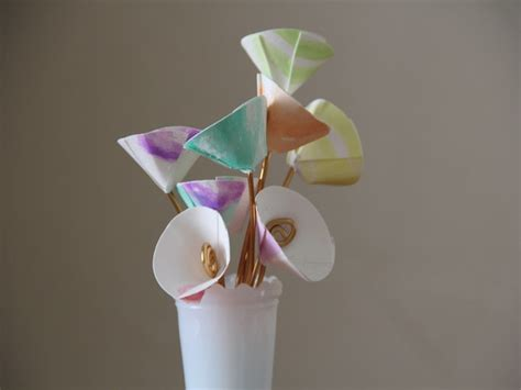 Paper Flower Bouquet Craft - paper flower bouquet diy craft