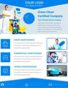 cleaning service brochure templates get free cleaning service flyer psd template template