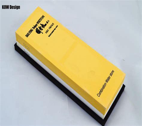 1000 3000 grit kitchen knife sharpener whetstone grinder