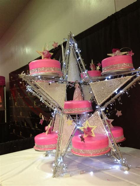 quinceanera themes moons and stars star shape quinceanera cake