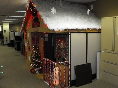 epic christmas cubicle christmas office decor