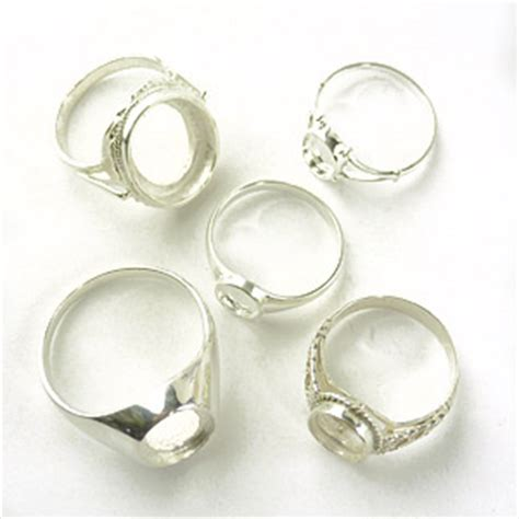 sterling silver ring blanks jewelry uk thin