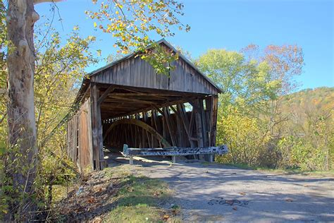 cabin creek cabin creek covered bridge