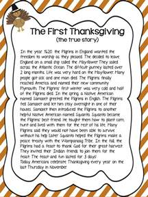 online thanksgiving stories for kids the first thanksgiving for kids www imgarcade com