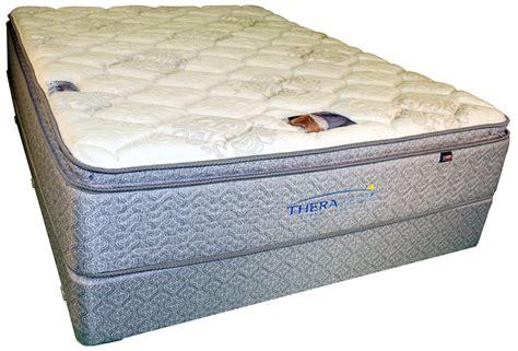 Thera Pedic Mattress by Therapedic Backsense Society Hill Plush Pillow Top Mattress