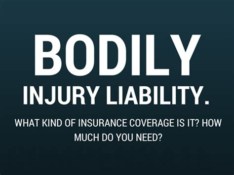 What is Bodily Injury Liability Insurance? How Much