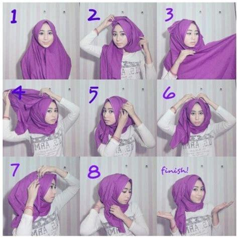 tutorial hijab simple untuk ootd tutorial hijab pashmina untuk santai yang modis