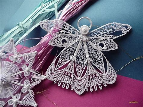 quilling angel tutorial 1893 best images about quilling o filigrana de papel on