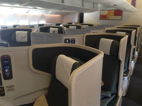 air canada club rail seats the best seats on cathay pacific s 777 300er business