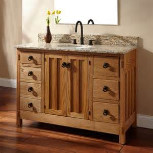 48 quot mission hardwood 7 drawer vanity for undermount sink