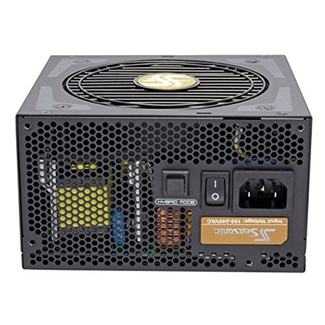 Seasonic Focus Plus Gold Fx 850 80 Gold Modular 10 Year Warranty seasonic focus plus gold 550w 80 gold certified fully modular atx power supply ssr 550fx
