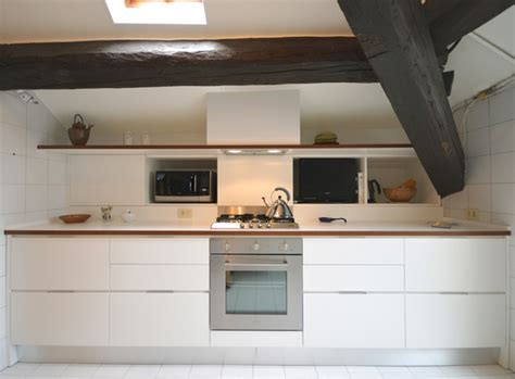 cucine mansarde una cucina in mansarda nel cuore di arredamento