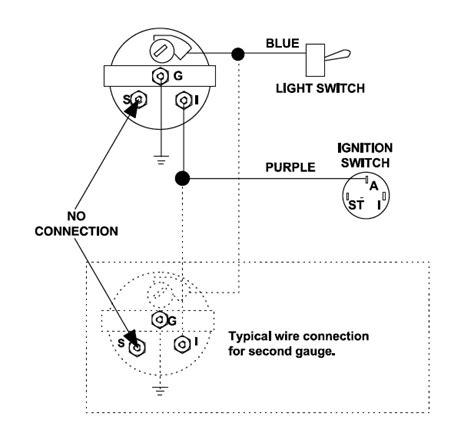how to wire up a fuel sending unit readingrat net