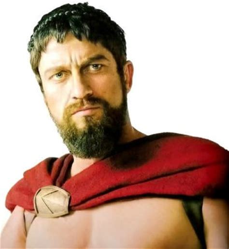 spartan hairstyle pictures of king leonidas beard gerard butler in 300 movie