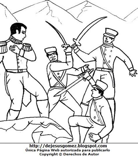 imagenes para colorear batalla de la victoria dibujos fotos acrostico y mas dibujos de la batalla de