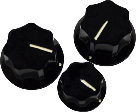 Jazz Bass Knobs by Fender Jazz Bass Knobs Set Of 3