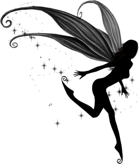 fairy silhouette tattoo designs best tribal gallery tattoogothic moonlight