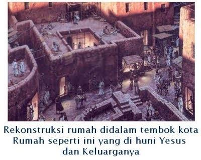 seputar alkitab konstruksi rumah  zaman yesus
