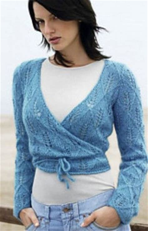 free pattern wrap top wrap around top by lana grossa free patterns knits and