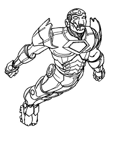 Free Printable Iron Man Coloring Pages For Kids Best Iron Pictures To Colour