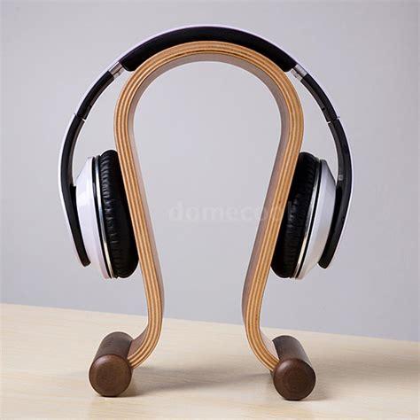 Headphone Rack by Best Gaming Headset Holder Wooden Walnut Headphone Stand U