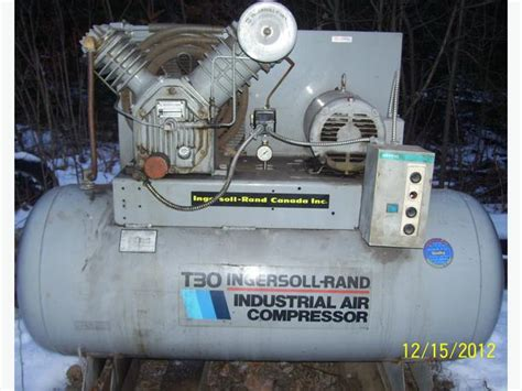 ingersoll rand t30 industrial air compressor 3 phase 575 volts west carleton ottawa