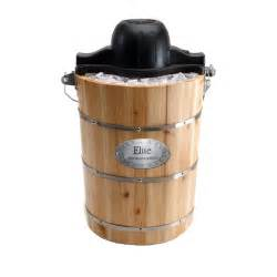 Home Made Ice Cream Maker Amazon Maxi Matic Old Fashioned Pine Bucket Electric