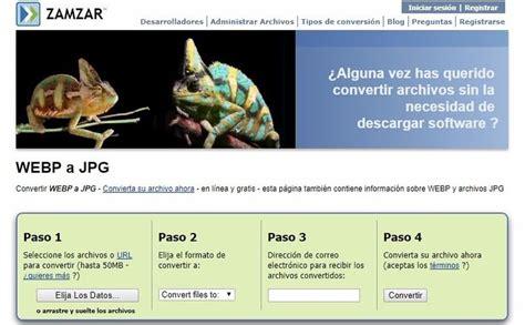 convertir video a imagenes jpg online 5 sitios para convertir im 225 genes webp a jpg en un momento