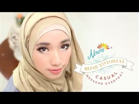 tutorial hijab paris a touch of feminity by laili noura download tutorial hijab go to school by laili noura