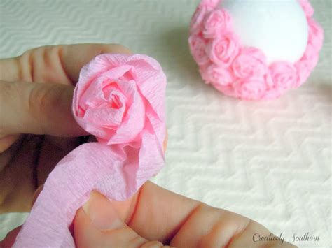 Craft With Crepe Paper - crepe paper flowers craft idea